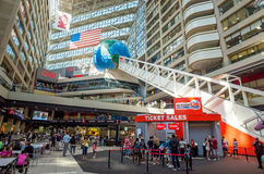Interior of CNN Center in Atlanta Royalty Free Stock Photography
