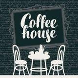 Interior Coffee house Royalty Free Stock Image