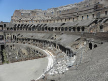 The interior of the coliseum of rome Stock Photos