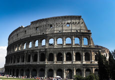 The interior of the coliseum of rome Stock Photo