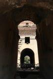 Interior of coliseum , Rome Royalty Free Stock Photos
