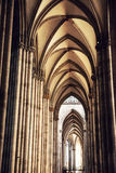 Interior of Cologne Cathedral Stock Image