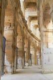 Interior colonnade amphitheater Stock Image