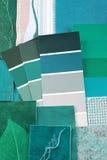 Interior color design Stock Photos