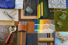 Interior color harmonisation Stock Photography