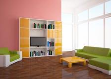 Interior coloreado Foto de archivo