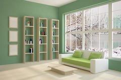 Interior coloreado Imagen de archivo libre de regalías