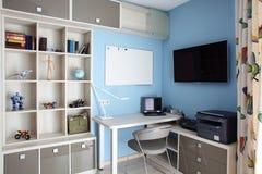 Interior colorido da sala de crianças fotos de stock royalty free