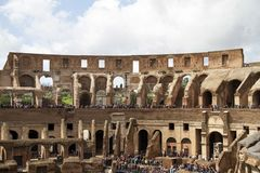 Colosseum Rome italy Stock Images