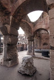 Interior of Colosseum, Rome royalty free stock photography