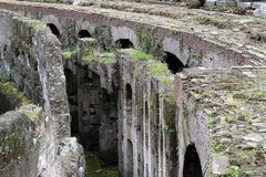 Interior of Colosseum, Rome Stock Images