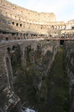 Interior of Colosseum, Rome Stock Image