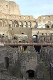 Interior of Colosseum, Rome Royalty Free Stock Photo