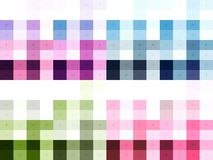 Colours Texture. The colours cord texture with cracks design on every colours middle stock illustration
