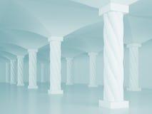 Interior Columns Royalty Free Stock Photo