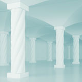 Interior Columns Stock Images