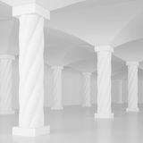 Interior Columns Royalty Free Stock Images