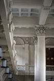 Interior columns of the Luz Station in Sao Paulo Royalty Free Stock Photos