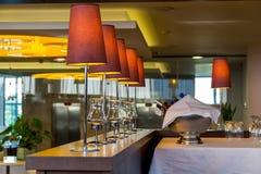 Interior com lâmpadas Imagem de Stock Royalty Free