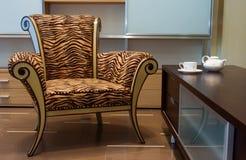 Interior com mobília nova Fotografia de Stock