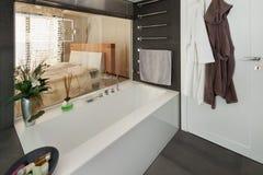 Interior, comfortable bathroom Royalty Free Stock Photography