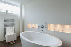 Interior, comfortable bathroom Royalty Free Stock Photography