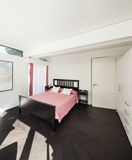 Interior, comfortable bedroom Royalty Free Stock Images