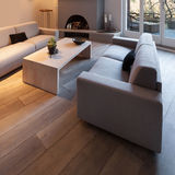 Interior, comfortable living room Stock Images