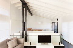 Interior, comfortable loft Stock Images
