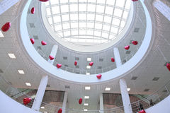 Interior of commercial center, Stock Photography