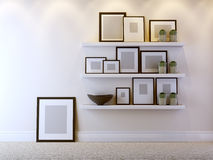 Interior composition Royalty Free Stock Photography
