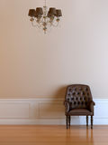Interior composition. 3d interior composition and classic stile Royalty Free Stock Images
