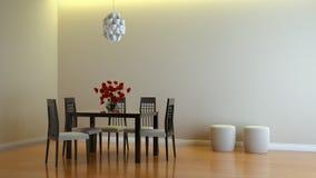 Interior composition. A modern 3d interior composition Royalty Free Stock Photo