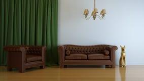Interior composition Royalty Free Stock Photos