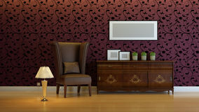 Interior composition Royalty Free Stock Image