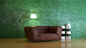 Interior composition. A modern 3d interior composition Stock Images