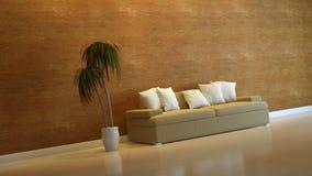 Interior composition. A modern 3d interior composition Stock Photo