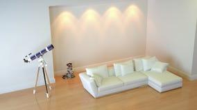 Interior composition. A modern 3d interior composition Stock Photos