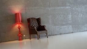 Interior composition. 3d interior composition and classic stile Royalty Free Stock Photo