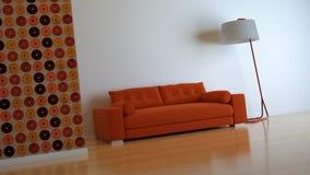 Interior composition. A modern 3d interior composition Royalty Free Stock Photos