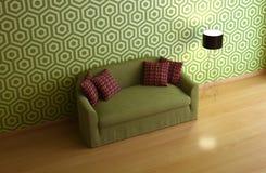 Interior composition. A modern 3d interior composition Stock Photography