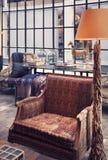 Interior con la silla foto de archivo