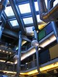 Interior con las tuberías Imágenes de archivo libres de regalías