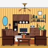 Interior Concept Flat Stock Photos