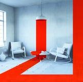 Interior conceptual libre illustration