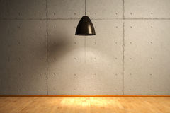 Interior Concrete bricks Royalty Free Stock Image