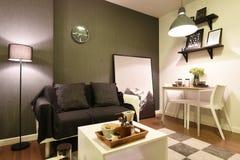 Interior of condominium room  Stock Images