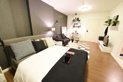 Interior of condominium room  Stock Photo