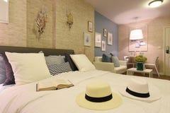 Interior of condominium room  Royalty Free Stock Images