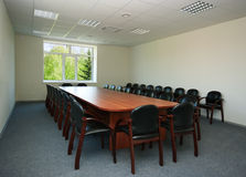 Interior of conference hall Royalty Free Stock Photos